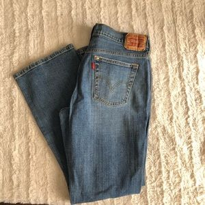 Women's red tab Levi jeans size 10 boot cut